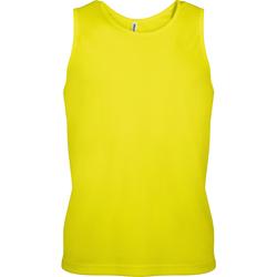 textil Herre Toppe / T-shirts uden ærmer Kariban Proact PA441 Fluorescent Yellow