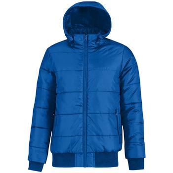 textil Herre Dynejakker B And C Bomber Royal Blue/ Neon Orange