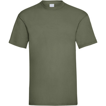 textil Herre T-shirts m. korte ærmer Universal Textiles 61036 Olive Green