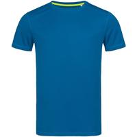 textil Herre T-shirts m. korte ærmer Stedman Mesh King Blue