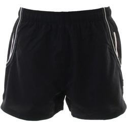 textil Herre Shorts Gamegear KK924 Black / White