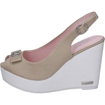 Sko Dame Sandaler Lancetti sandali tela Beige