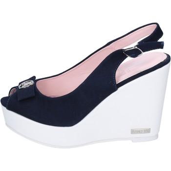 Sko Dame Sandaler Lancetti sandali tela Blu