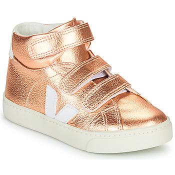 Sko Pige Høje sneakers Veja SMALL-ESPLAR-MID Pink
