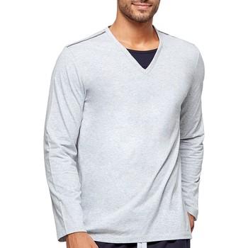 textil Herre Pyjamas / Natskjorte Impetus GO42024 073 Grå