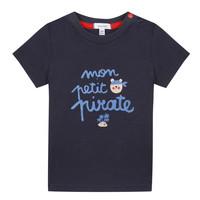 textil Dreng T-shirts m. korte ærmer Absorba NADINE Marineblå