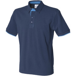 textil Herre Polo-t-shirts m. korte ærmer Front Row FR200 Navy/Marine