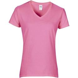 textil Dame T-shirts m. korte ærmer Gildan GD015 Azalea