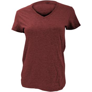 textil Dame T-shirts m. korte ærmer Anvil Basic Independence Red