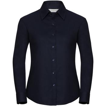 textil Dame Skjorter / Skjortebluser Russell 932F Bright Navy