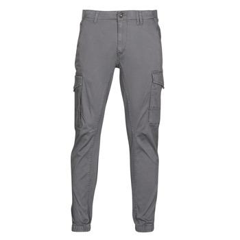 textil Herre Cargo bukser Jack & Jones JJIPAUL Grå