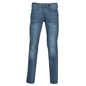 textil Herre Smalle jeans Jack & Jones JJITIM Blå / Mørk