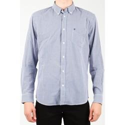 textil Herre Skjorter m. lange ærmer Wrangler 1 PKT Shirt W5929M8DF blue, white