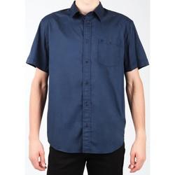 textil Herre Skjorter m. korte ærmer Wrangler S/S 1PT Shirt W58916S35 navy