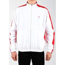textil Herre Sportsjakker K-Swiss Accomplish Jacket 100250-119 white, red