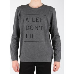textil Herre Langærmede T-shirts Lee Dont Lie Tee LS L65VEQ06 grey