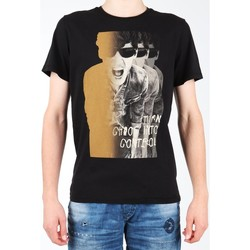 textil Herre T-shirts m. korte ærmer Lee Photo Tee Black L60BAI01 black