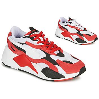 Sko Lave sneakers Puma RS-X3 Rød / Hvid