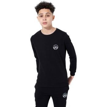 textil Børn Langærmede T-shirts Hype  Black