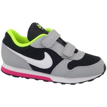 Sko Børn Løbesko Nike MD Runner 2 TD Celadon,Sort,Grå