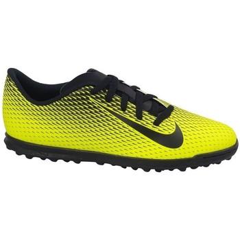 Sko Børn Fodboldstøvler Nike JR Bravatax II TF Sort, Gul