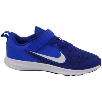 Sko Børn Snøresko & Richelieu Nike Downshifter 9 Psv Blå