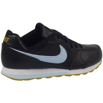 Sko Børn Snøresko & Richelieu Nike MD Runner 2 Flt Sort