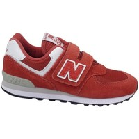 Sko Børn Lave sneakers New Balance YV574EC Rød