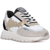 Sko Herre Lave sneakers At Go GO MOON ARGENTO 560 Grigio