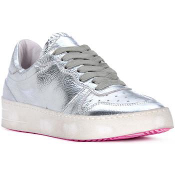 Sko Herre Lave sneakers At Go GO MOON ARGENTO Grigio