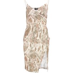 textil Dame Korte kjoler Girls On Film  Snake Print