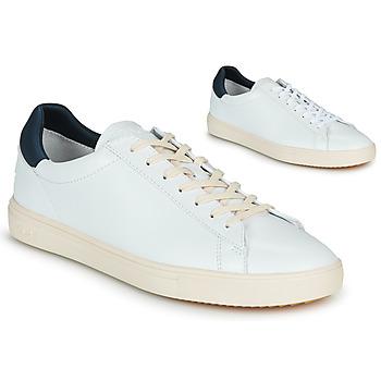 Sko Herre Lave sneakers Claé BRADLEY Hvid / Blå