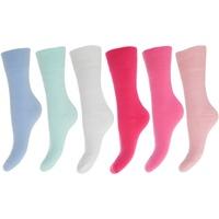 Accessories Dame Strømper Floso  Pink/Blue Shades