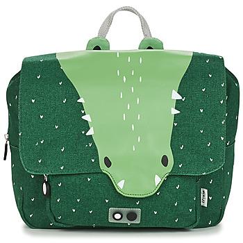Tasker Børn Skoletasker TRIXIE MISTER CROCODILE Grøn