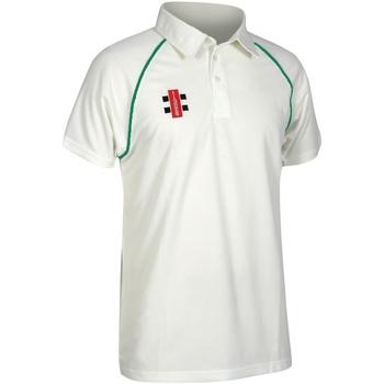 textil Børn Polo-t-shirts m. korte ærmer Gray-Nicolls GN02J Ivory/ Bottle