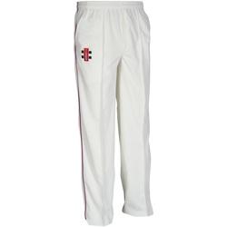 textil Børn Træningsbukser Gray-Nicolls GN10J Ivory/ Maroon