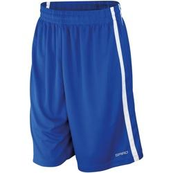 textil Herre Shorts Spiro S279M Royal/White