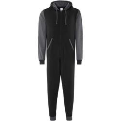 textil Buksedragter / Overalls Comfy Co CC003 Black Charcoal