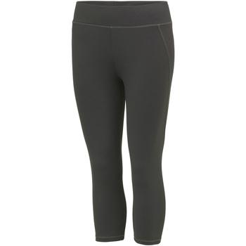 textil Dame Leggings Awdis JC086 Charcoal