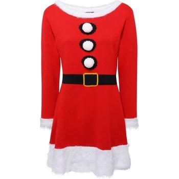 textil Dame Korte kjoler Christmas Shop CS039 Red