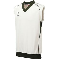 textil Dreng Toppe / T-shirts uden ærmer Surridge SU07B White/Green Trim