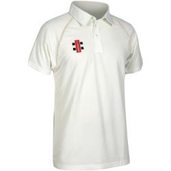 textil Børn Polo-t-shirts m. korte ærmer Gray-Nicolls GN02J Ivory