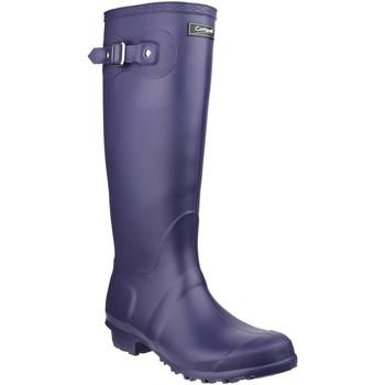 Sko Gummistøvler Cotswold  Purple