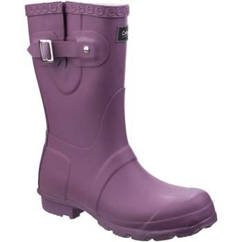 Sko Dame Gummistøvler Cotswold  Purple
