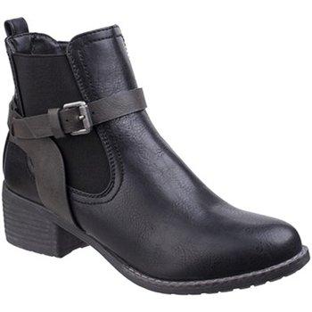 Sko Dame Støvler Divaz  Black