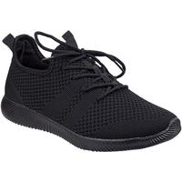 Sko Dame Lave sneakers Divaz  Black