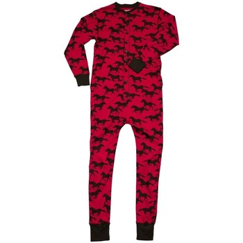 textil Pyjamas / Natskjorte Lazyone  Red/Black