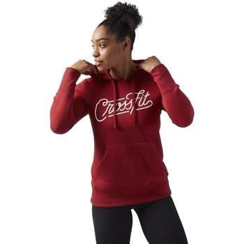 textil Dame Sweatshirts Reebok Sport Crossfit Rød