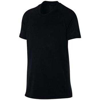 textil Dreng T-shirts m. korte ærmer Nike JR Dry Academy Top Sort