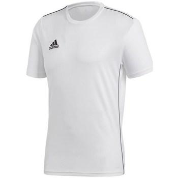 textil Herre T-shirts m. korte ærmer adidas Originals Core 18 Hvid